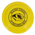 Mizzou Tigers Yellow Frisbee