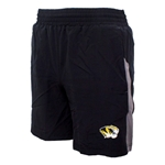 Mizzou Under Armour Tiger Head Black Athletic Shorts