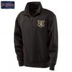 Mizzou Mom Women's Official Paisley Black 1/4 Zip Sweatshirt