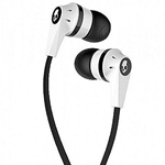 Skullcandy White/Black with Mic Ink'd Ear Buds