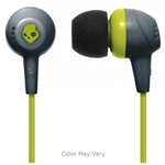 Skullcandy Grey/Lime with Mic Jib Ear Buds