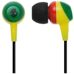 Skullcandy Rasta with Mic Jib Ear Buds