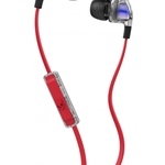 Skullcandy Spaced Out/Clear with Mic Smokin' 2.0 Ear Buds