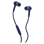 Skullcandy Navy with Mic Smokin' Ear Buds