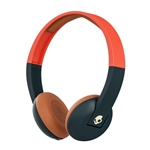Skullcandy Orange Bluetooth Uproar On Ear Headphones