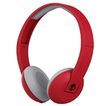 Skullcandy Red Bluetooth Uproar On Ear Headphones