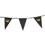 Mizzou Oval Tiger Head Black Party Pennants