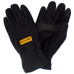 Missouri Tiger Head I-Touch Black Fleece Gloves