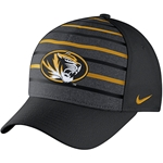 Mizzou Nike&reg 2016 Oval Tiger Head Black Stretch-Fit Hat