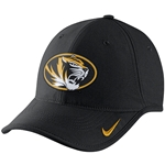 Mizzou Nike&reg 2016 Oval Tiger Head Black Adjustable Hat