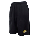 Mizzou Nike® 2015 Oval Tiger Head Black Athletic Shorts