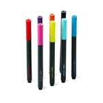 Set of 8 Poppin Assorted Slim Permanent Markers