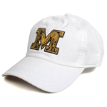 Mizzou Official Paisley White Adjustable Hat