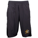 Mizzou Tiger Head Grey Athletic Shorts