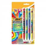 Bic Xtra Craze Mechanical Pencil Set of 4