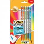 Bic Xtra Shine Assorted Mechanical Pencil Set of 5