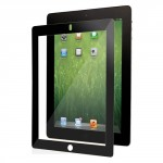 Moshi iVisor XT Crystal Clear Black Screen Protector for iPad