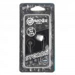 Wicked Audio Sycron Black In-Ear Headphones