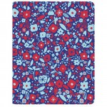 Speck FitFolio Case for iPad 2, 3 & 4 BitsyFlora Blue/Red