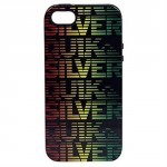 Quicksilver Inlay Hybrid Case for iPhone 5/5s