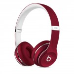 Beats by Dre Solo2 Luxe Red On-Ear Headphones