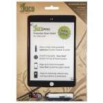 JucePeel Color Glass Black Screen Protection Kit for iPad mini