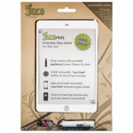 JucePeel Color Glass White Screen Protection Kit for iPad mini