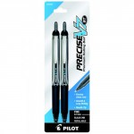 Pilot Precise V5/V7 Retractable Rolling Ball Pen Pack of 2