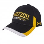 Mizzou Tigers Under Armour Black Adjustable Hat