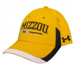 Mizzou Tigers Under Armour Gold Adjustable Hat