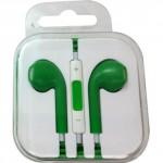 Professional Cable Xavier Green Earbuds with Volume Control