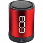 808 Audio CANZ Red Bluetooth Wireless Speaker