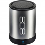 808 Audio CANZ Silver Bluetooth Wireless Speaker