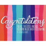 Congratulations Greeting Assortment Notecards