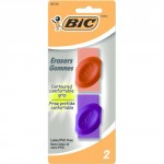 Bic Eraser with Grips 2 Pack