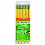 Ticonderoga 18-Pack Wooden #2 Pencils