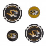 Mizzou Golf Ball Marker Set of 4