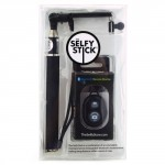 Black Selfy Stick