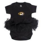 Mizzou Oval Tiger Head Tutu Onesie