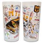 Mizzou Campus Scenes Frosted Glass