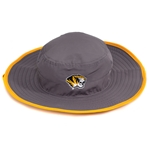Mizzou Oval Tiger Head Grey Ultra Light Bucket Hat