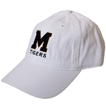 Mizzou Block M White Hat
