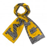 Mizzou Grey Knit Scarf