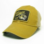 Mizzou Tiger Head Old Gold Trucker Hat