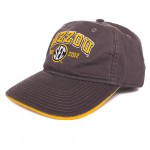 Mizzou SEC Since 2012 Grey & Gold Adjustable Hat