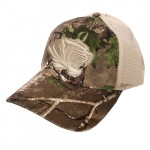 Mizzou Tiger Head Camouflage Tan Mesh Adjustbale Hat