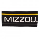 Mizzou Thin Stripe Black Headband