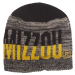Mizzou Heather Grey Two-Tone Knit Beanie