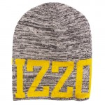 Mizzou Grey & Gold Knit Beanie
