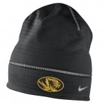 Mizzou Nike&reg 2016 Oval Tiger Head Black Beanie